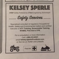 Kelsey Sperle Safety Training Services